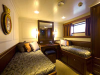 Spirit of Chartwell twin cabin