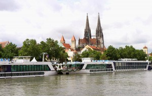 AmaWaterways ship on the Rhine