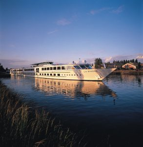 La Boheme cruising the Rhine River
